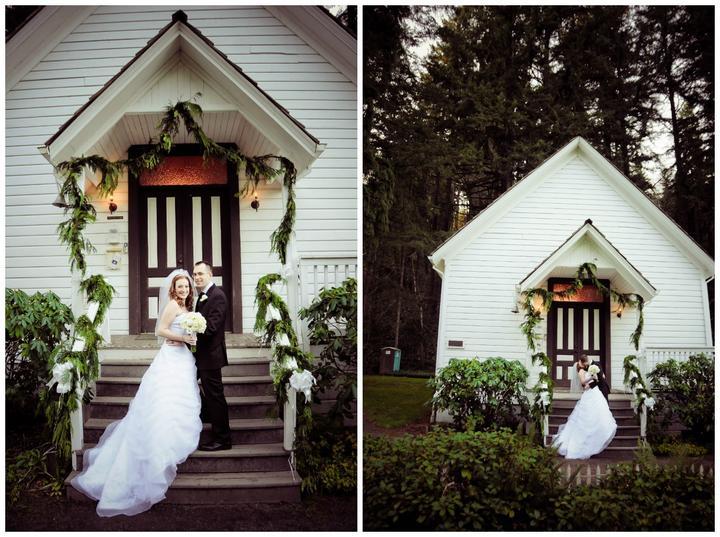 Album wedding photos Pioneer Church | Clackamas Oregon